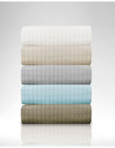 Κουβερλί μονό Cursive σε 4 χρώματα Art 1600  160x240  Λευκό Beauty Home