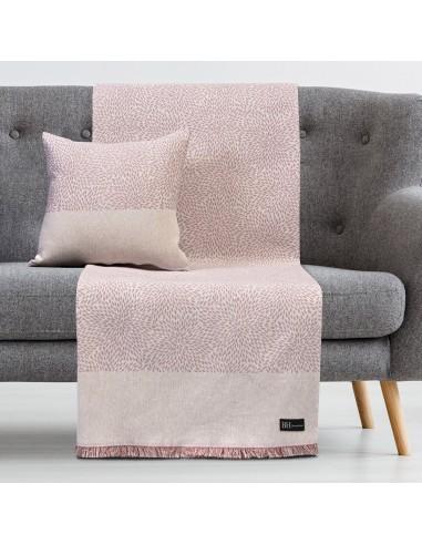 Ριχτάρι Τριθέσιο Art 8356 180x300 Ροζ   Beauty Home