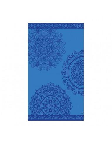 Πετσέτα θαλάσσης Art 2141 80x160 Μπλε   Beauty Home