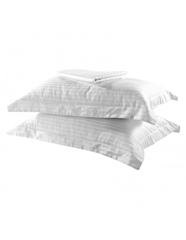 Σετ πάπλωμα μονό Dobby Stripe Art 1381  160x240  Λευκό