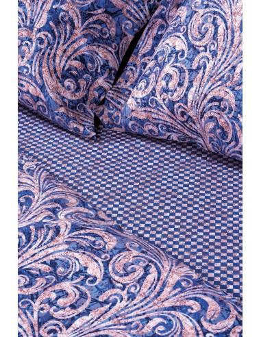 Σετ κουβερλί υπέρδιπλο Plumeria Art 1817  220x240  Εμπριμέ   Beauty Home