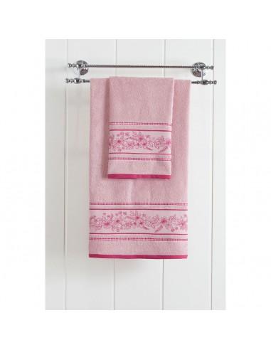 Πετσέτα προσώπου Art 3225  50x90  Ροζ