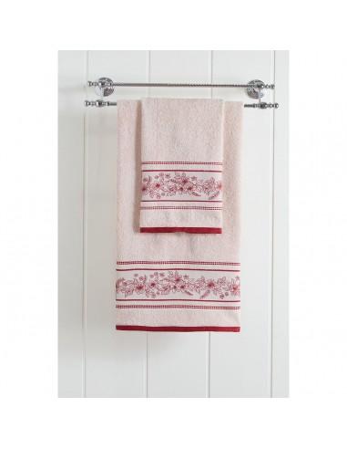 Πετσέτα προσώπου Art 3226  50x90  Εκρού