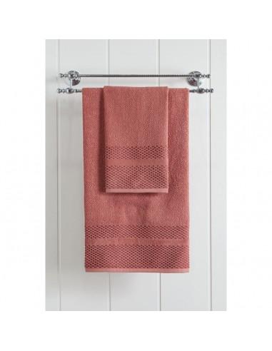 Πετσέτα μπάνιου Art 3228  70x140  Κόκκινο