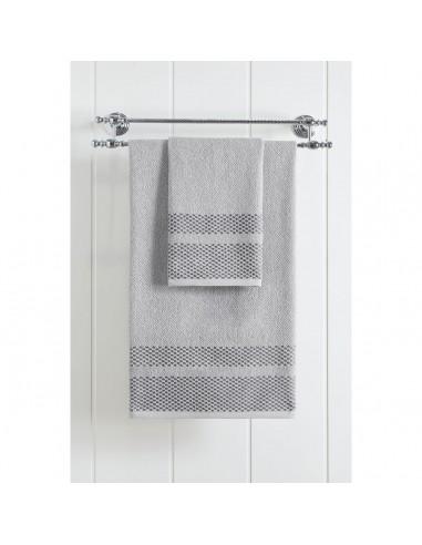 Πετσέτα μπάνιου Art 3229  70x140  Γκρι