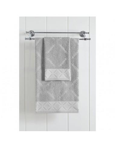 Πετσέτα προσώπου Art 3232  50x90  Γκρι