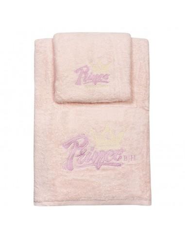 Σετ πετσέτες Art 5153  Σετ 2τμχ  Ροζ