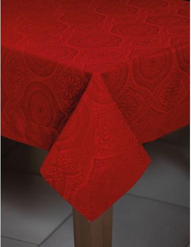 Τραπεζομάντηλο Art 8259  Κόκκινο