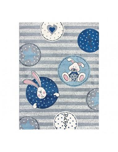 Χαλί Yolo Art 9502 133x190  133x190  Γαλάζιο