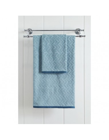 Πετσέτα μπάνιου Art 3236  70x140  Γαλάζιο