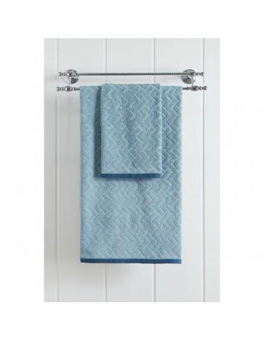 Πετσέτα προσώπου Art 3236  50x90  Γαλάζιο